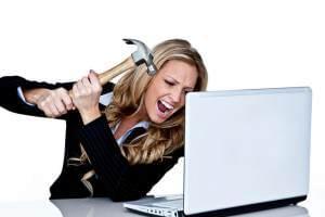 Работа на компьютере как фактор стресса