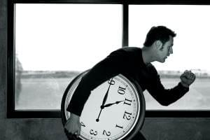 Мужчина с часами