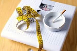 бросить курить и не набрать вес
