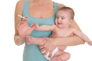 Мать и сигарета